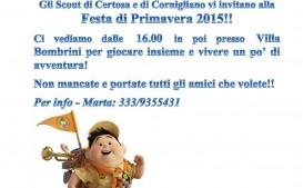 Festa di Primavera Scout Cornigliano e Certosa